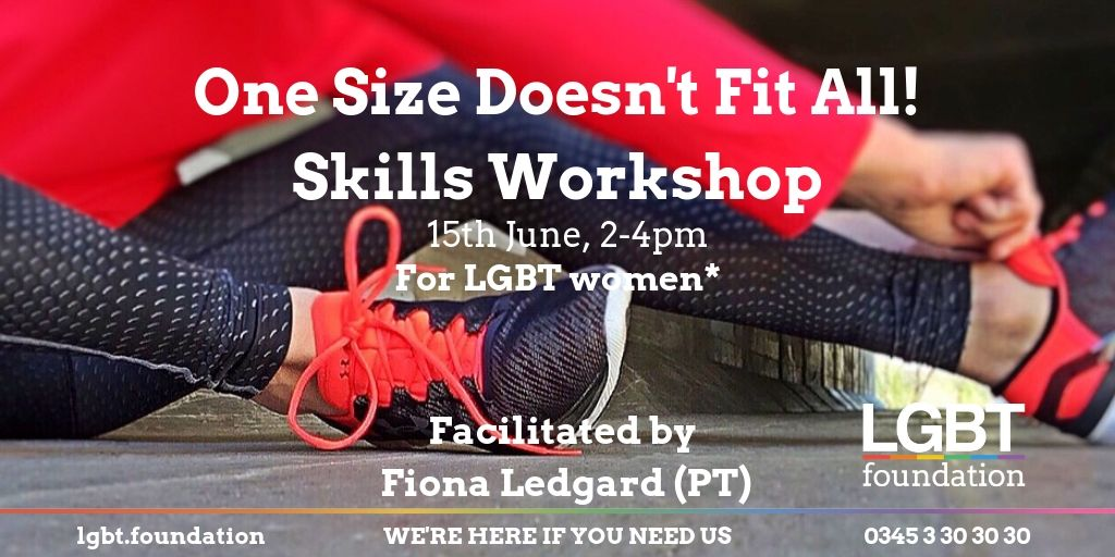 """Image from """"One Size Doesn't Fit All"""" workshop from 15th June."""