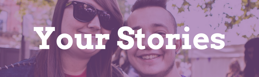 your stories banner