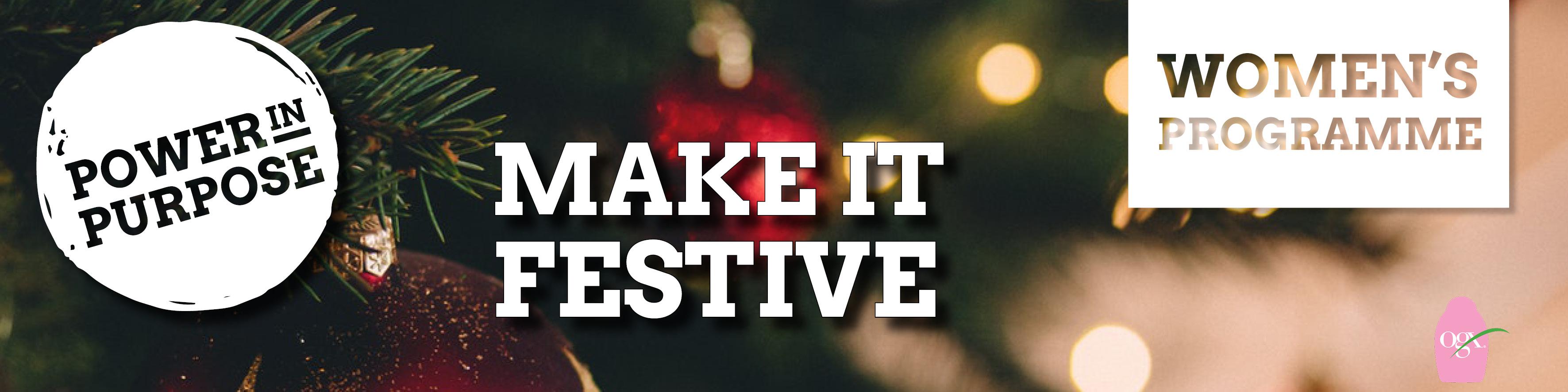 Make it Festive