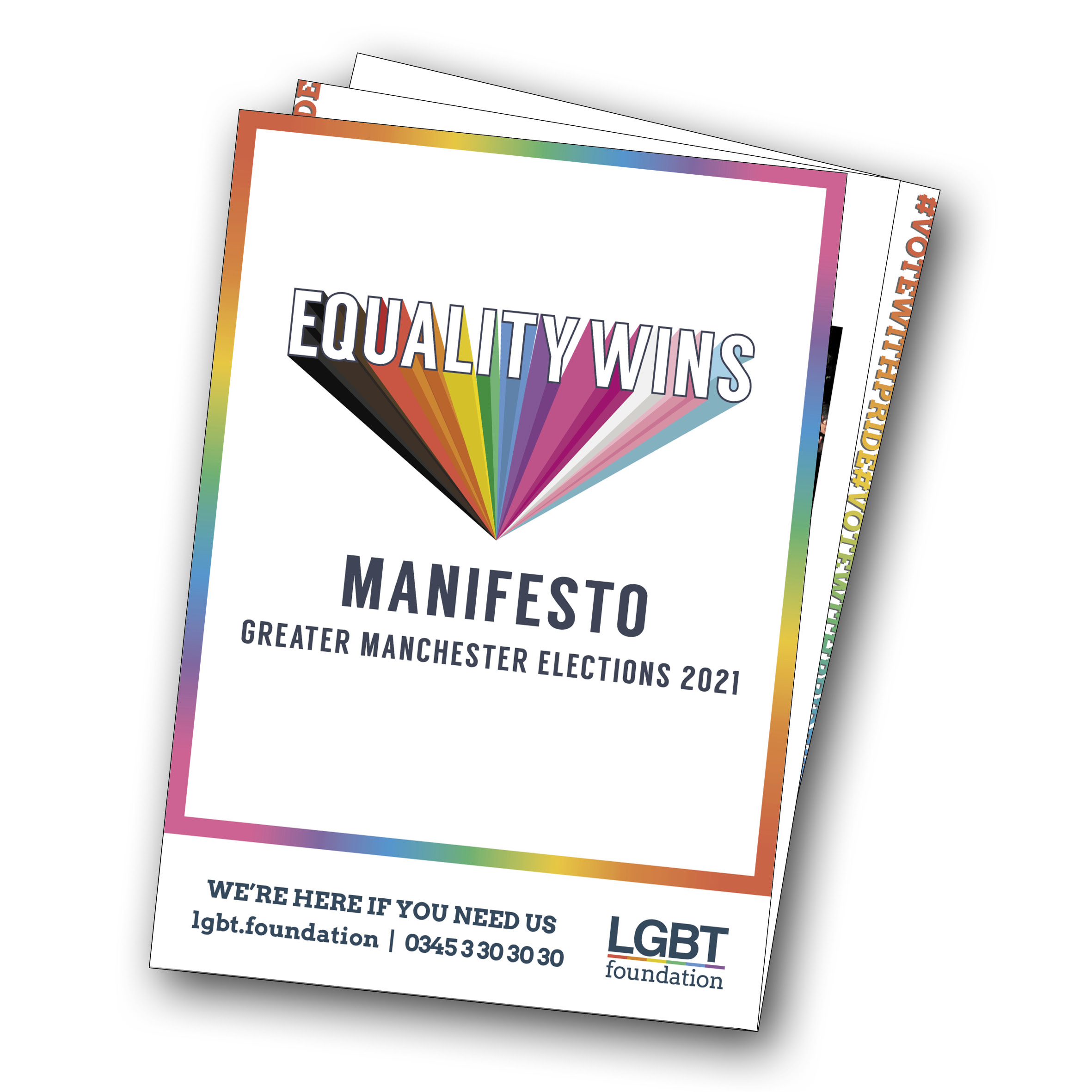 Equality Wins Manifesto Cover