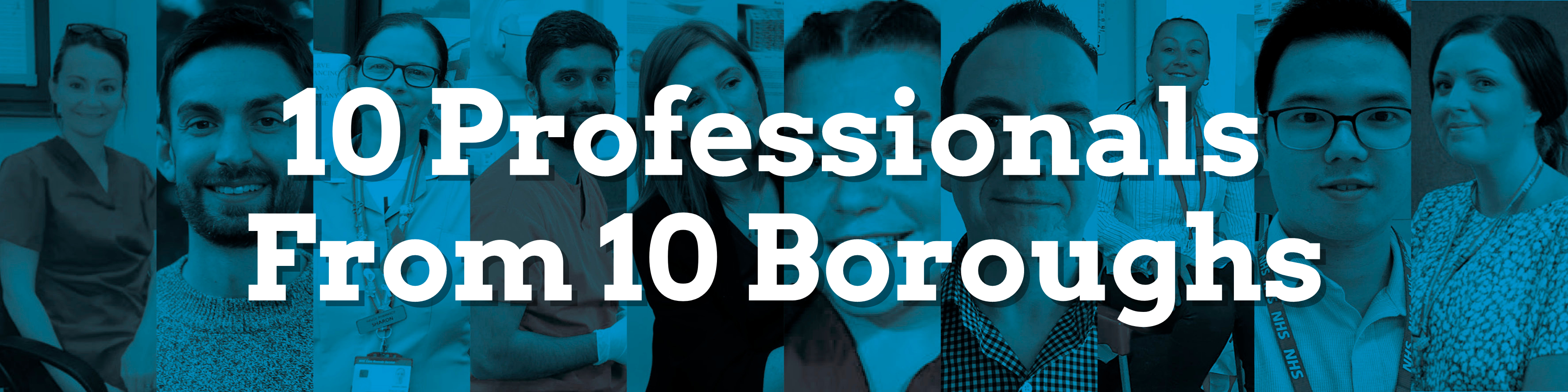 10 Professionals From 10 Boroughs header