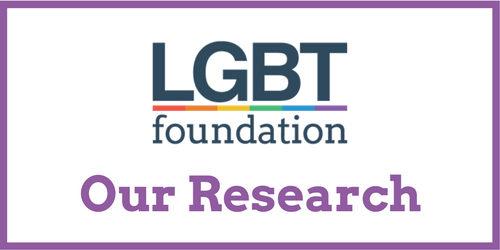 LGBT Foundation research for trans people