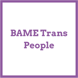 BAME trans people