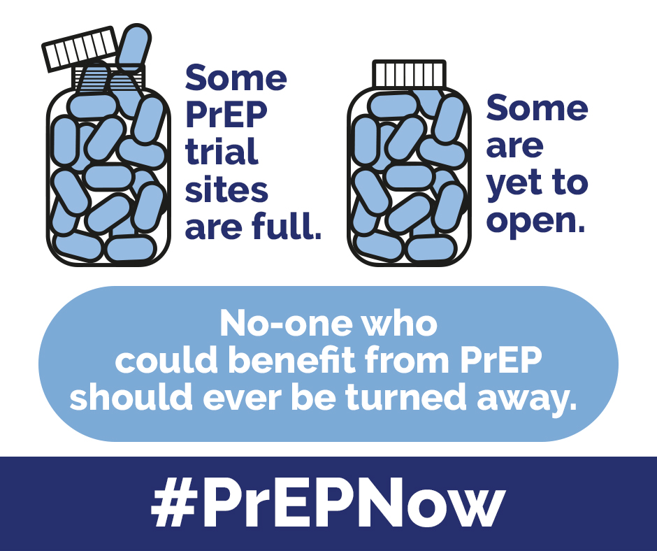 No one who can benefit from PreP should ever be turned away