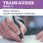 Trans guide on name changes and gender recognition certificates