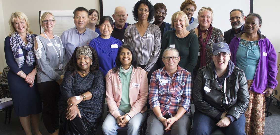 EB members group photo September 2016 smiling people