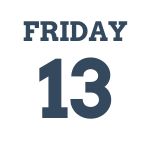 Friday 13th March