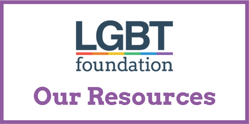 LGBT Foundation resources for trans people