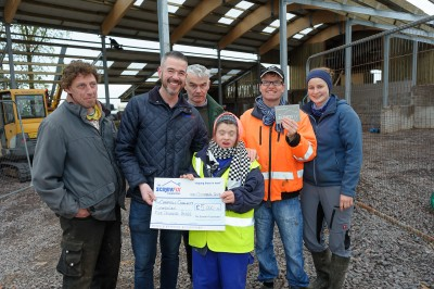 Screwfix Omagh Cheque Presentation