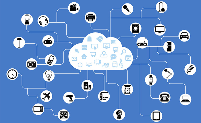 Iot network with big data