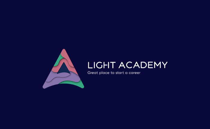 Light Academy logo and mojo