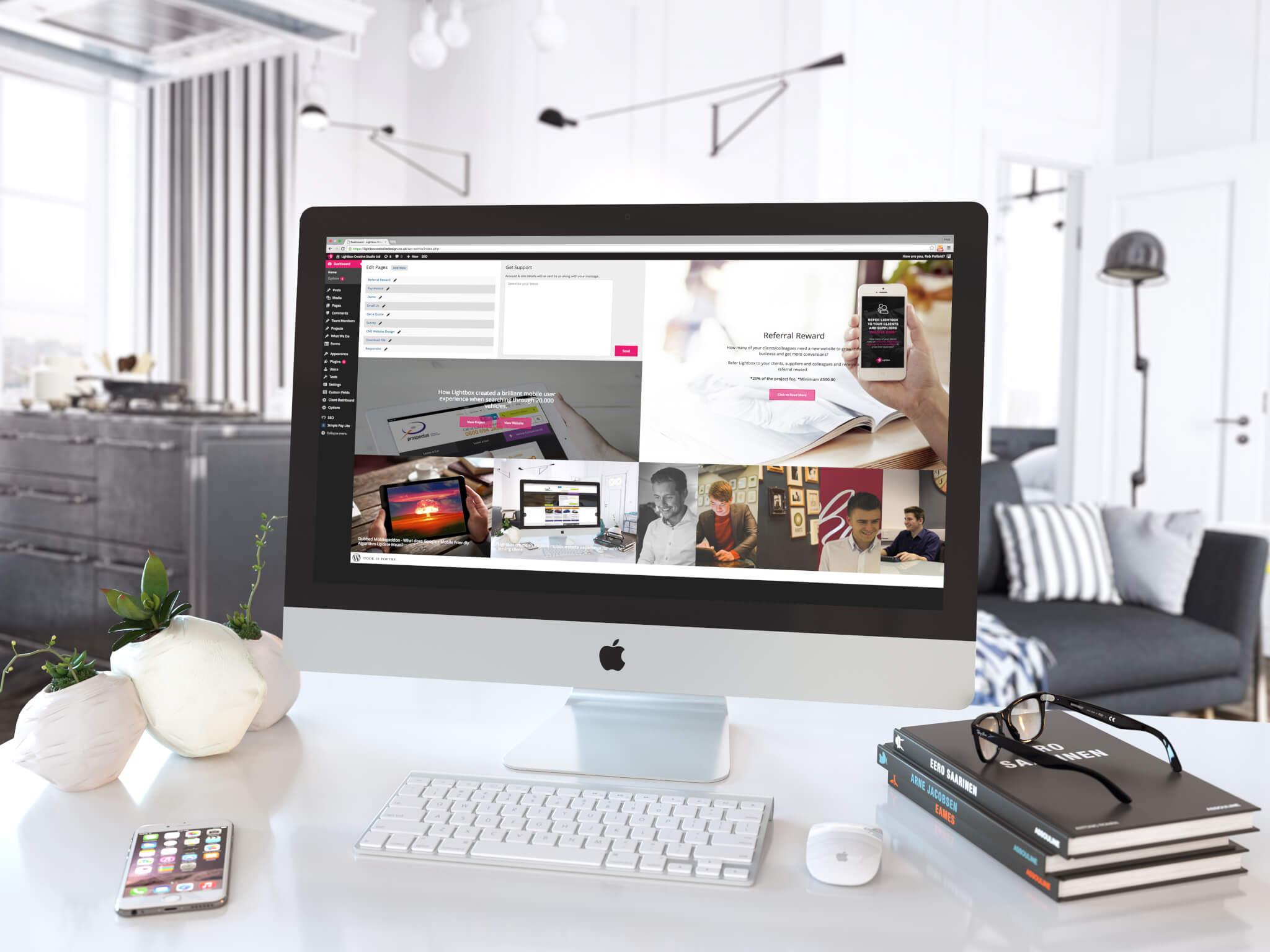 view_1_Lightbox WordPress Dashboard