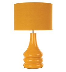 Bright and colourful table lamps