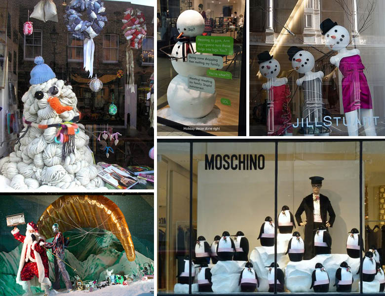Quirky Christmas Displays