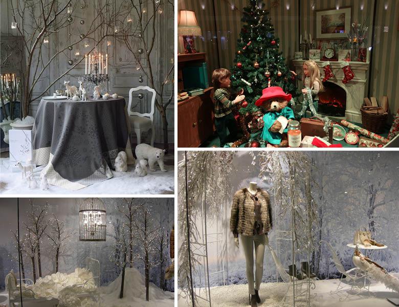 Interior Christmas Display