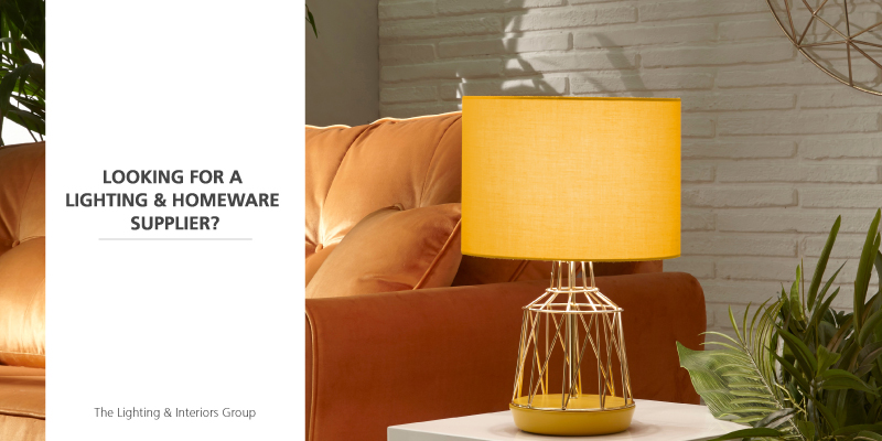 lighting and homeware supplier to trade customers