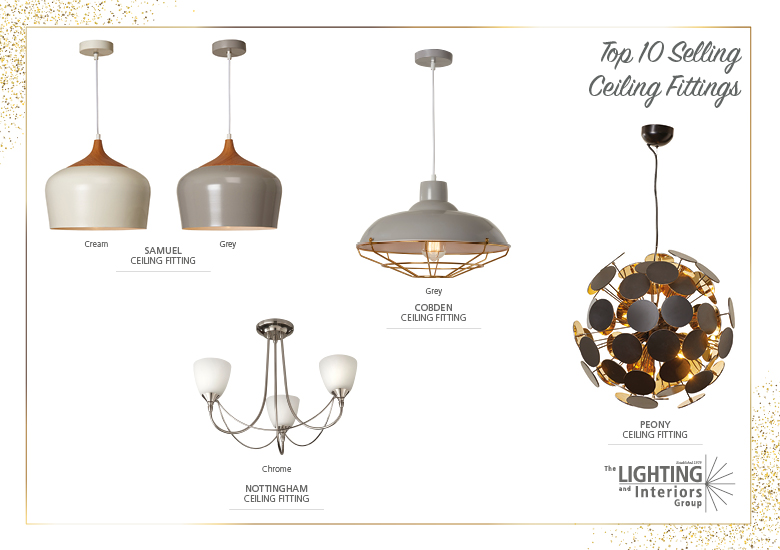 Top Seller Ceiling Fittings Trade Customers