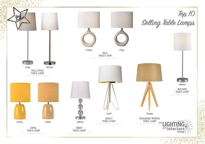 Top Seller Table Lamps Trade Customers