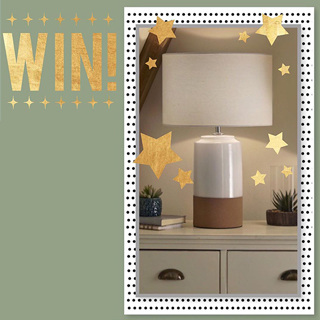 Win one of our table lamps