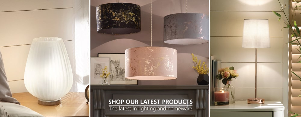 New in lighting and homeware