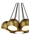 Percy 7 Light Ceiling Fitting - Gold