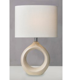 Isla Table Lamp - Cream