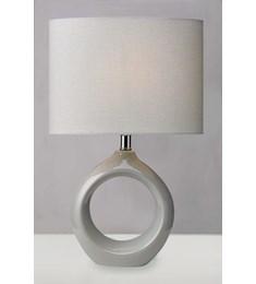 Isla Table Lamp - Soft Grey