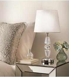 James Crystal Table Lamp