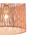 Laser Cut Pendant Shade - Rose Gold
