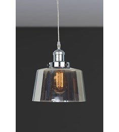 Acton Smoked Glass Lantern