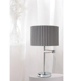 Fenella Table Lamp - Chrome | Grey