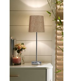 Glitz Tall Stick Table Lamp - Gold