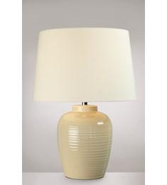 Lume Barrel Table Lamp - Cream