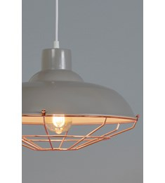 Cobden Fitting - Grey & Copper
