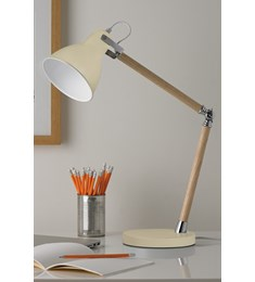 Drake Desk Lamp - Cream