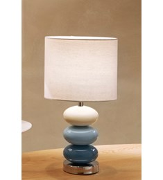 Esme Table Lamp - Denim Blue