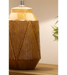 Safi Table Lamp Ochre