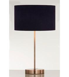 Velvie Table Lamp Navy | Copper
