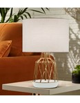 Macaron Table Lamp White