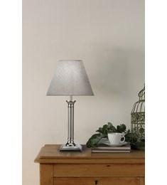Nelson Table Lamp - Satin Chrome
