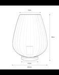 Pari Table Lamp - Blush