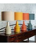 Raj Table Lamp - Burnt Orange