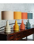Raj Table Lamp - Ochre