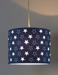 Starry Night Pendant Shade - Navy