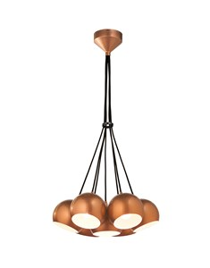 Percy 7 Light Ceiling Fitting - Copper | Multi Light Electrical Fitting