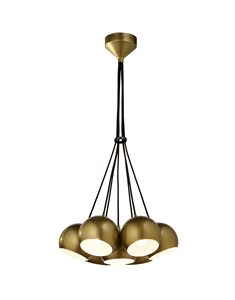Percy 7 Light Ceiling Fitting - Gold | Multi Light Electrical Fitting