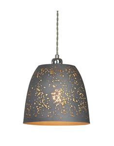 Storm Pendant Shade - Grey | Metal Ceiling Shade