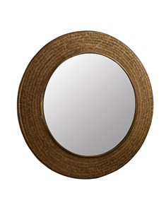 Mayra Mirror Antique Brass | Indian Artisan Mirror