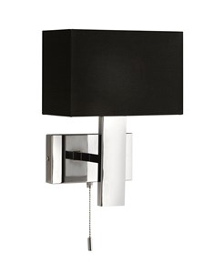 Brooke Wall Light - Black | Modern Metal Wall Fitting