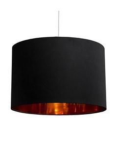 Bjorn Pendant Shade - Black | Gold Inner Ceiling Shade